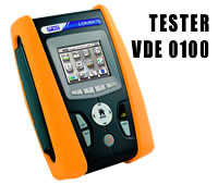 COMBI G3 - VDE 0100 Tester mit Touchscreen